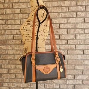 Vintage Dooney and Bourke handbag purse leather